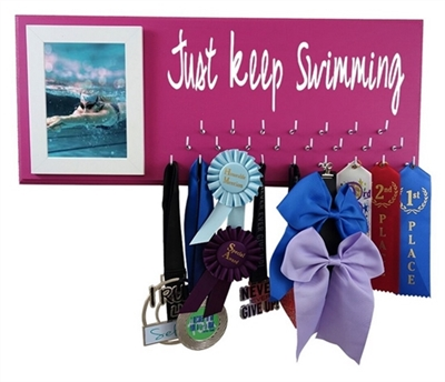 Swimming ribbons display - SWIMMIMG