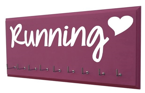 medals display holder  Running Heart