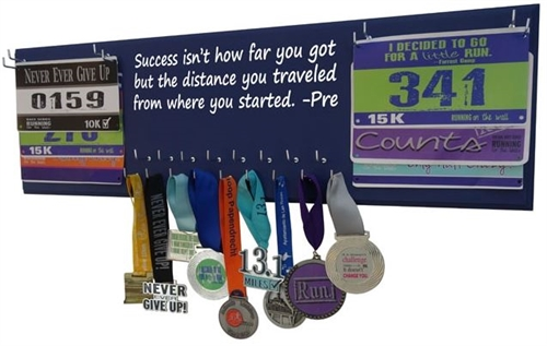 Inspiration medal holder Steve Prefontaine quote