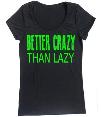 Running Tank - Better crazy than lazy