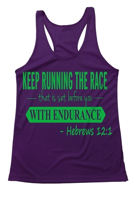 Women's Running tank tops - Hebrews