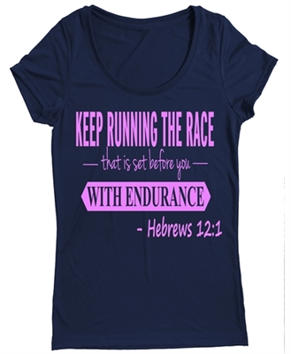 Women's Athletic Running Top - Hebrews