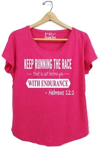 Women's Fitness Slimming Tee - Hebrews