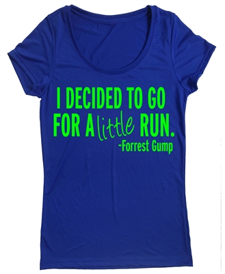 Women's Athletic Apparel - Forrest Gump