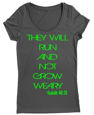 Inpirational running tops Isaiah