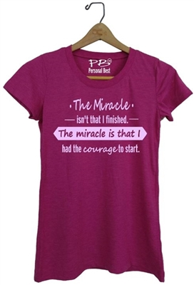 Woman running top - The Miracle