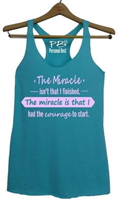 Women's running tank  - The Miracle