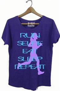 Running apparel - RUN eat, sleep, repeat