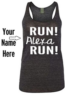 Custom made running shirt