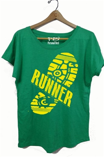 Women's Fitness Slimming T: Sole Runner