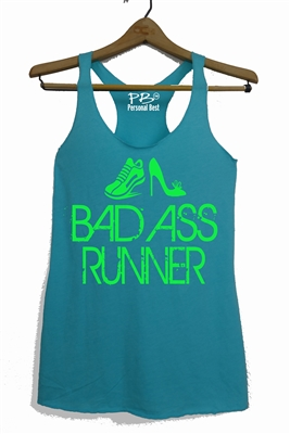 BAD ASS  - Funny Running tank