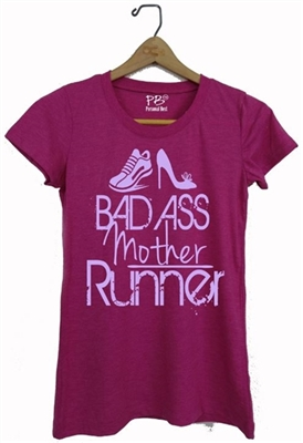 funny fitness top - Bad Ass Mother Runner