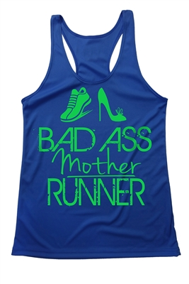 fitness tank - Bad Ass Mother Runner