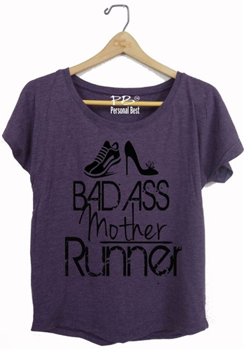 Fitness Slimming Top - Bad Ass Mother Runner