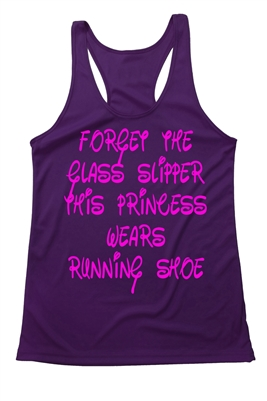 Women's Running Tank Top - Run Disney - Forget the glass slippers
