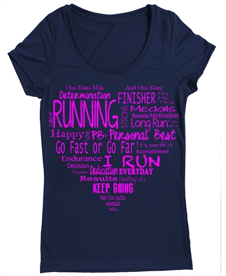 Running wear - The heart of running