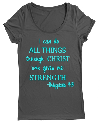 Women's Running top - I can do all things