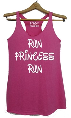 Run Princess Run - Run Disney running women tank
