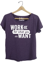 Women's Slimming Top - work for what you want