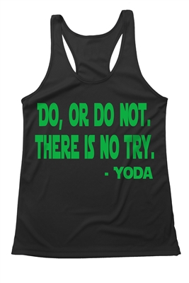 Yoda  Quote  Running  Tank Top