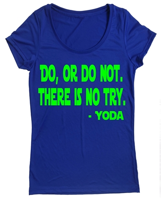 Yoda  Quote  Athletic Top