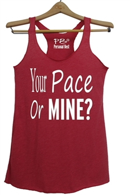 af4c1000ee2c5 Athletic Tank Top for women - Your pace or mine