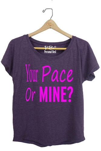 Women's Running Top - Your pace or mine?