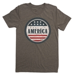 Made in America T-Shirt - Everyday American Flag Tee - for All Patriots who Love Our Country - America First