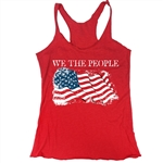 We The People Tank - Everyday American Flag Top - for All Patriots who Love Our Country - America First