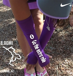 Go the extra mile - running arm warmers