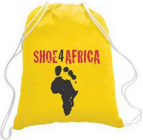 Shoe for Africa race day bag