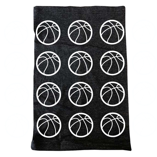 Basketball - Neck Gaiter - Headwear Scarf - Face Cover - Bandana - Beanies hat - Wrist band - Headband