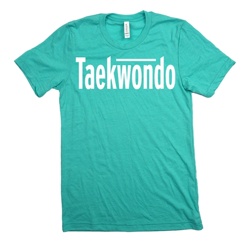 Taekwondo Tee Shirt - For Teen Boy and Girl Martial Artists