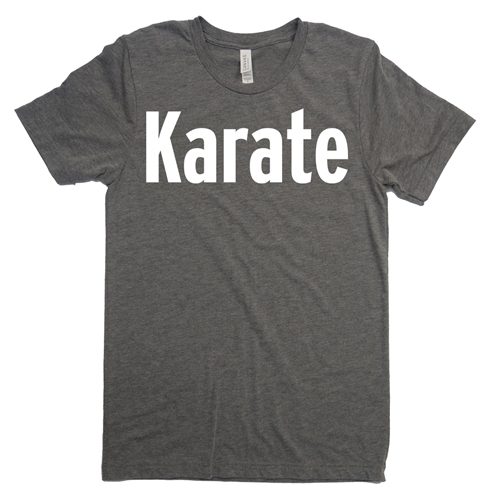 Karate Tee Shirt - For Teen Boy and Girl Martial Artists