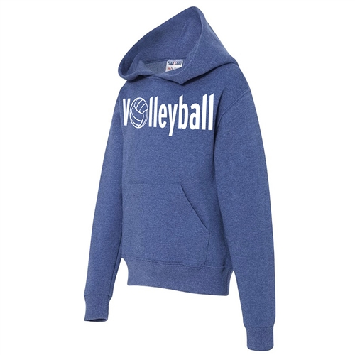 Bold Volleyball Hoodie - Athletic Sweatshirt for Teen Volleyball Players