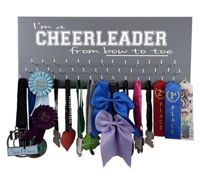Cheerleading Gifts - I'm a CHEERLEADER from bow to toe -