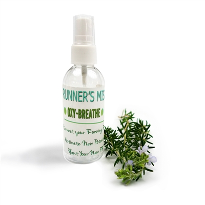 oxygen breathing runners essential oil mist