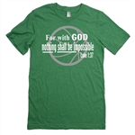 Basketball Shirt - Nothing Shall Be Impossible - For Teen Basketball Players