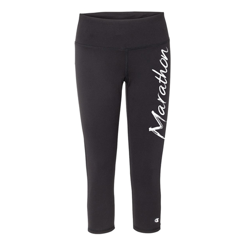 capris tights black running