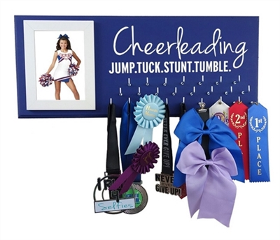 cheerleading cheerleader bow toe gift holder display rack gift