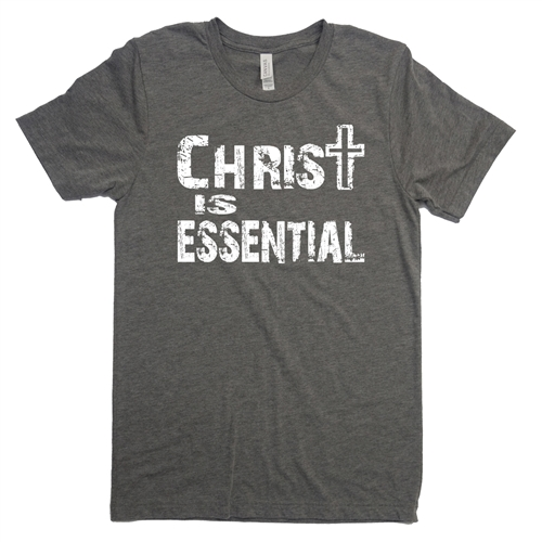 Christ is Essential - T-Shirt for Boys - Athletic Apparel