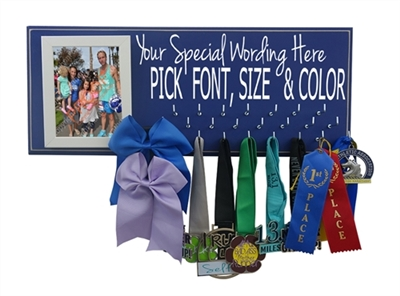 Custom medal display
