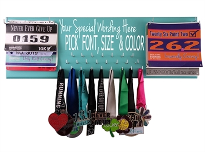 Create your own - medal and bib hanger