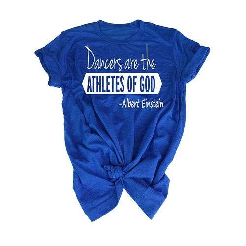 Dance Tee Shirt - Athletes of God - For Teen Dancers