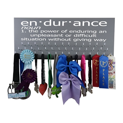 Endurance Definition - Medal display rack