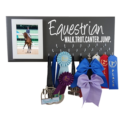 Equestrian holder display hanger