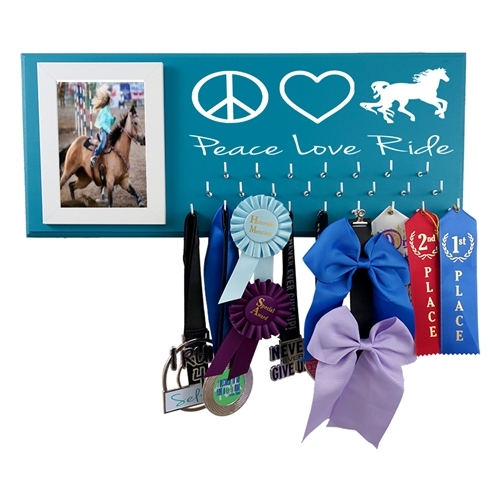 Horse riding equestrian holder display medal