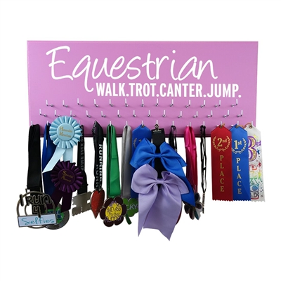 Equestrian - Ribbon display rack