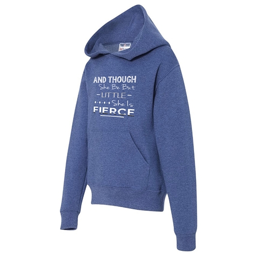 She is Fierce - Athletic Sweatshirt for Teen Girls
