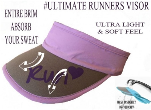 women's running visor